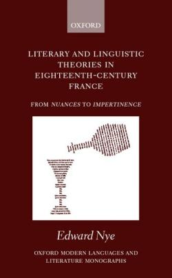 Literary and Linguistic Theories in Eighteenth-Century France