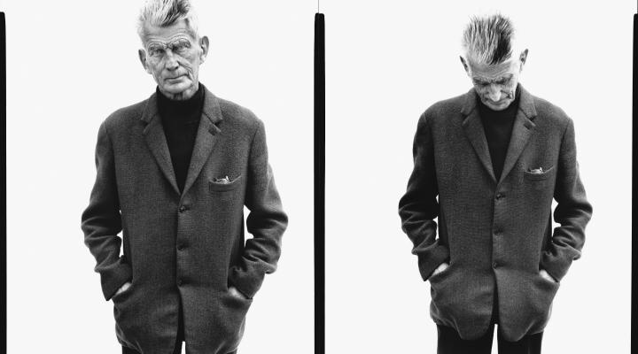 Samuel Beckett by Richard Avedon (Paris, April 13th, 1979)