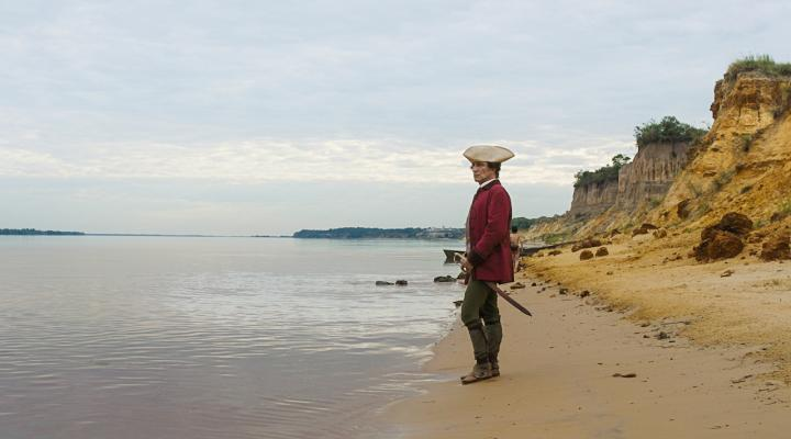 Still from Zama by Lucrecia Martel (2017), featuring the protagonist