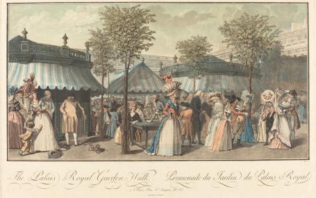 rituels de la promenade au XVIIIe siècle