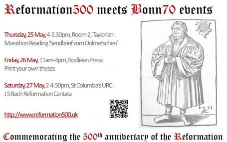 Reformation500 meets Bonn70