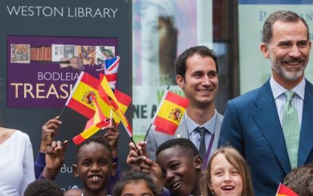 King Felipe VI of Spain and Queen Letizia Visit Oxford