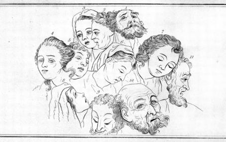 Illustration for Essays on Physiognomy by J. C. Lavater