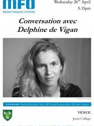 Conversation with Delphine de Vigan
