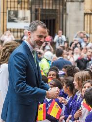 King Felipe VI of Spain and Queen Letizia Visit Oxford