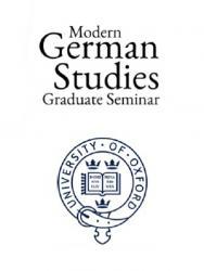 Modern German Studies, Graduate Seminar Logo