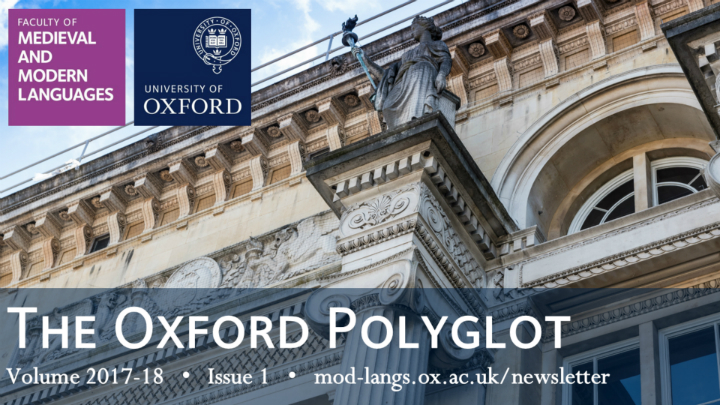 Cover of The Oxford Polyglot, Issue 1